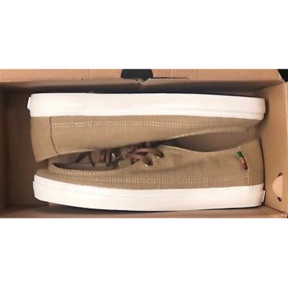 e839a201f82 Vans Rata Vulc SF Hemp Khaki Rasta Men Shoes